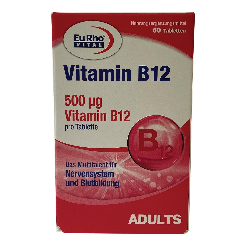 قرص ویتامین ب12 یوروویتال