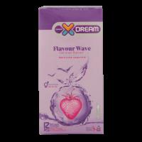 کاندوم میوه ای ایکس دریم مدل Flavour wave