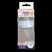 بطری شیر خوری پروپیلن دهانه عریض 150 سی سی