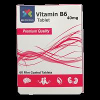 ویتامین ب-6 40 میلی گرم مولتی نرمال
