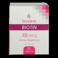 قرص بیوتین 300 میکروگرم بایوکلینیک