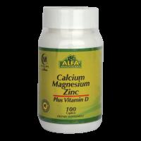 کلسیم+منیزیم+زینک آلفا ویتامینز