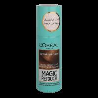 اسپری کانسیلر ریشه مو لورال مدل Magic Retouch قهوه ای روشن