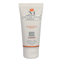 کرم ضد آفتاب رنگی فاقد چربی SPF50 مدیلن