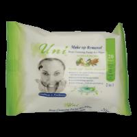 دستمال مرطوب پاک کننده آرایش ویژه پوست های خشک و حساس یونی لد