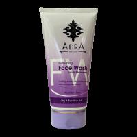 ژل شستشوی صورت پوست های خشک و حساس آدرا