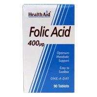 فولیک اسید 400 میکروگرم هلث اید