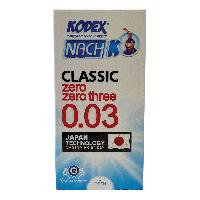 کاندوم ناچ کی کلاسیک 0.03 کدکس
