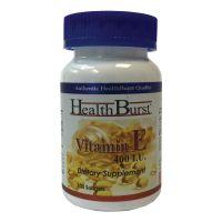 کپسول ژلاتینی ویتامین ای هلث برست