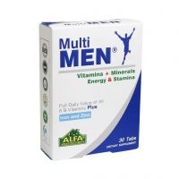 قرص مولتی ویتامین مخصوص آقایان آلفا ویتامینز