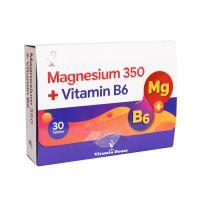 قرص منیزیم 350 + ویتامین ب 6 ویتامین هاوس