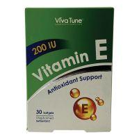سافت ژل ویتامین ای 200 ویواتون