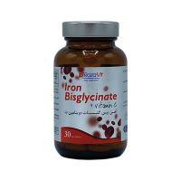 قرص آهن بیس گلیسینات + ویتامین ث رزاویت