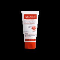 کرم ضد آفتاب فاقد جاذب های شیمیایی رنگی SPF 46 آردن برای پوست های معمولی و حساس .