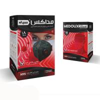 ماسک n95 فیلتر دار دارای لایه کربن مداکس