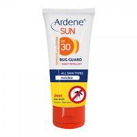 لوسیون ضد آفتاب انواع پوست دافع حشرات بدون رنگ SPF 30 آردن